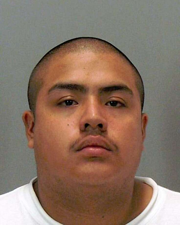 Eduardo Crisobal, arrested in connection with the shooting and stabbing of two trick-or-treaters in San Jose on Halloween. Photo: San Jose Police