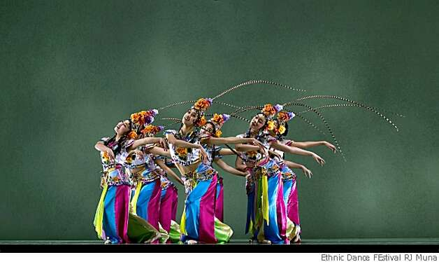 China Dance School Photo: Ethnic Dance FEstival RJ Muna