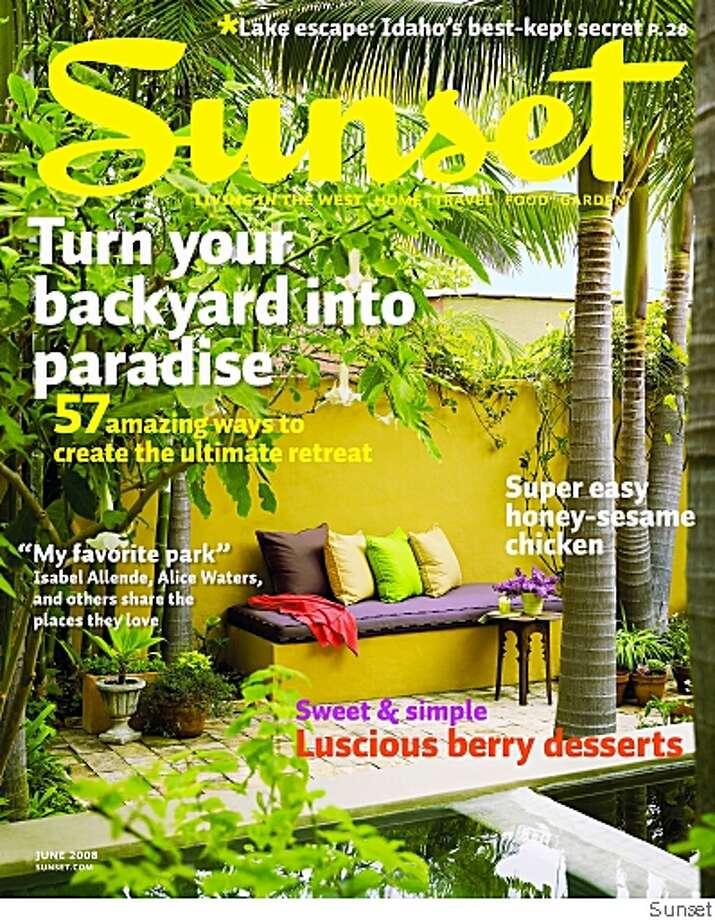 Sunset Magazine Photo: Sunset