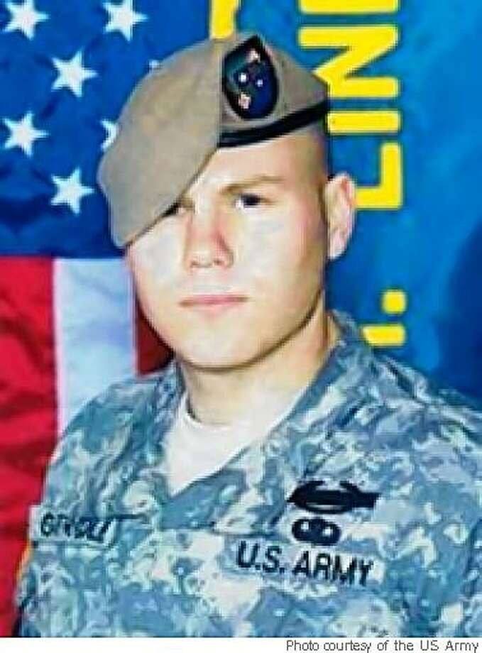 File photo of Spc. Christopher Gathercole, Army Ranger killed in combat on May 26, 2008, in Afghanistan. He was a native of Santa Rosa. Photo: Photo Courtesy Of The US Army