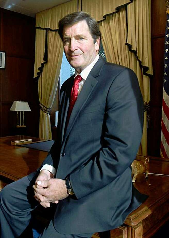 In this photo taken Tuesday, Oct. 27, 2009, Lt. Gov. John Garamendi, the Democratic candidate for the California 10th Congressional District, is seen in his Capitol office in Sacramento, Calif.  Garamendi  is running against Republican David Harmer in Tuesday's special election to replace former Rep. Ellen Tauscher, a Democrat who was named earlier in the year to a State Department position. (AP Photo/Rich Pedroncelli) Photo: Rich Pedroncelli, AP