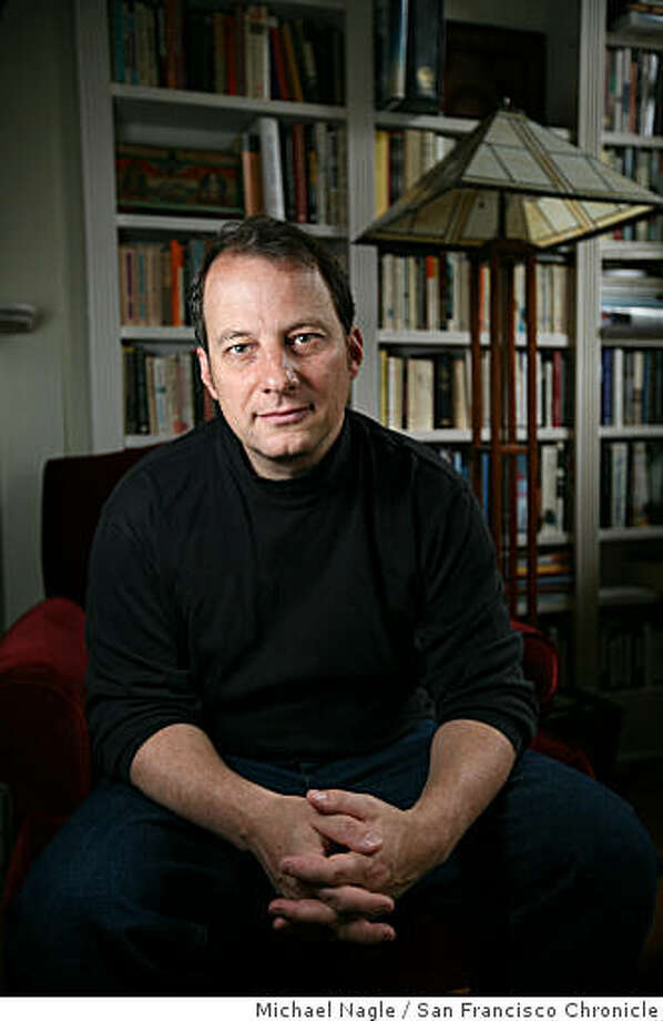 BROOKLYN, NY - MAY 09, 2008: Journalist and novelist George Packer poses in his Prospect Heights apartment on May 09, 2008 in Brooklyn, NY.  For Packer, a staff writer for the New Yorker, writing runs in the family. Photo: Michael Nagle, San Francisco Chronicle