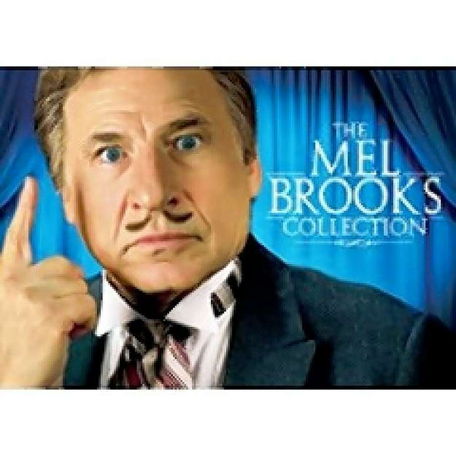 dvd cover MEL BROOKS COLLECTION (blu ray) Photo: Amazon.com