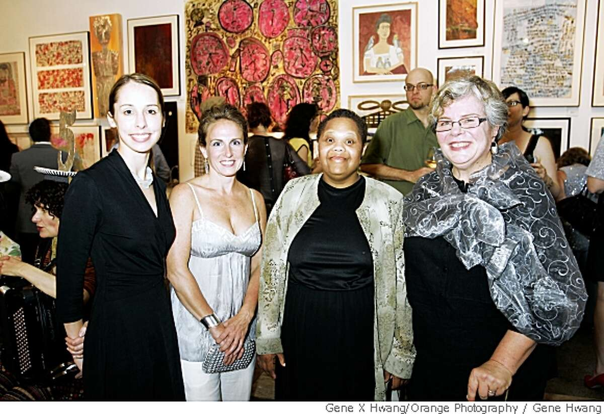 Creativity Explored celebrated their 25th Anniversary at Foreign Cinema in SF. Creativity Explored 25th Anniversary Benefit - San Francisco, CA, USA Event Sponsor Wachovia¹s Community Affairs Manager Andrea Ronzani, Board President Cara Storm, Artist Taneya Lovelace, Executive Director Amy Taub