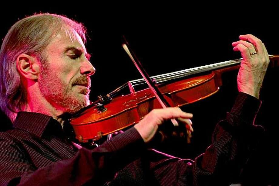 Jazz violinist Jean-Luc Ponty Photo: Imma Casanalles, Yoshi's