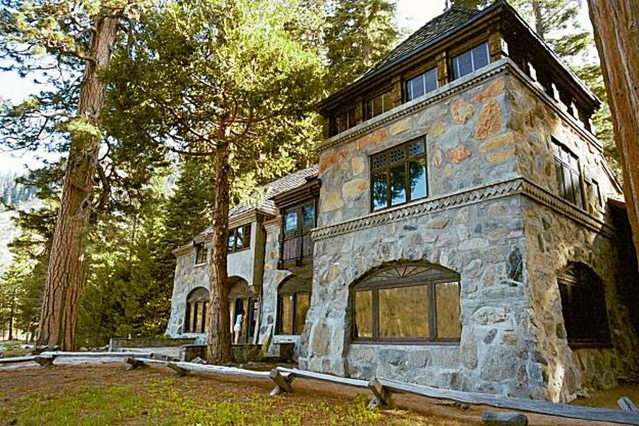 Vikingsholm, the Scandinavian-style castel built at the head of Emerald Bay in 1929. Photo: John Flinn, The Chronicle