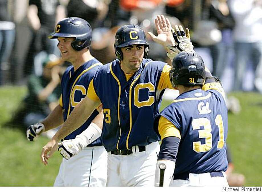 Josh Satin, baseball player for University of California Berkeley. Courtesy of Michael Pimentel / GoldenBearSports.com Photo: Michael Pimentel