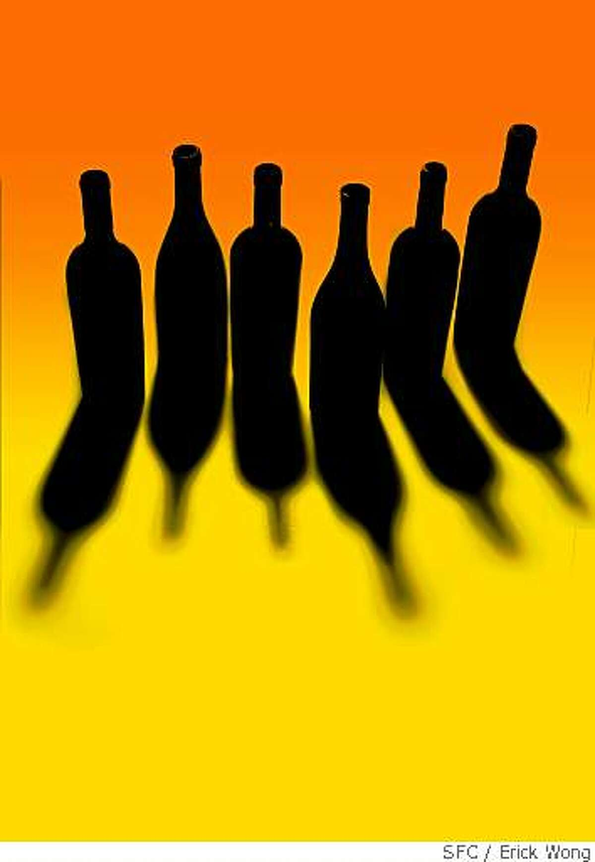 Six upstart wineries look to become the new cults.Photo illustration / Erick Wong / SFCPhoto by Craig Lee / The San Francisco Chronicle