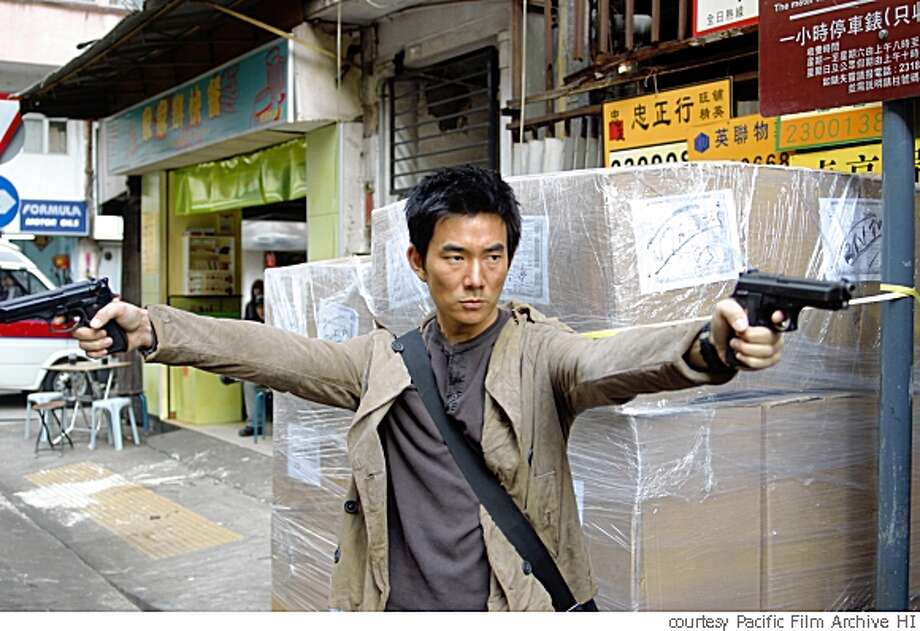 Still from Johnnie To's film BREAKING NEWS (2004). Photo: Courtesy Pacific Film Archive HI