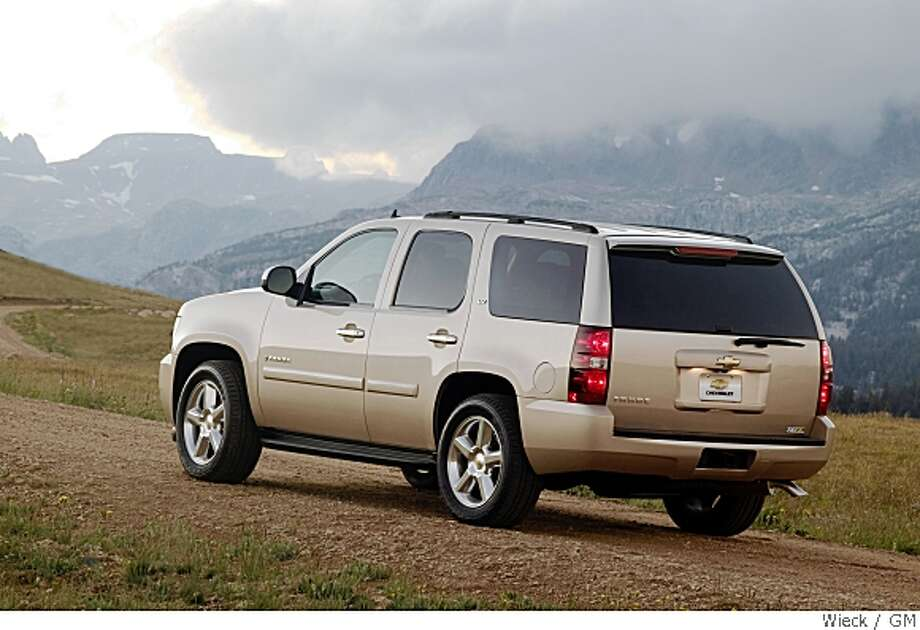 2008 Chevrolet Tahoe LTZ. X08CT_TA027  (United States) Photo: General Motors, Courtesy To The Chronicle
