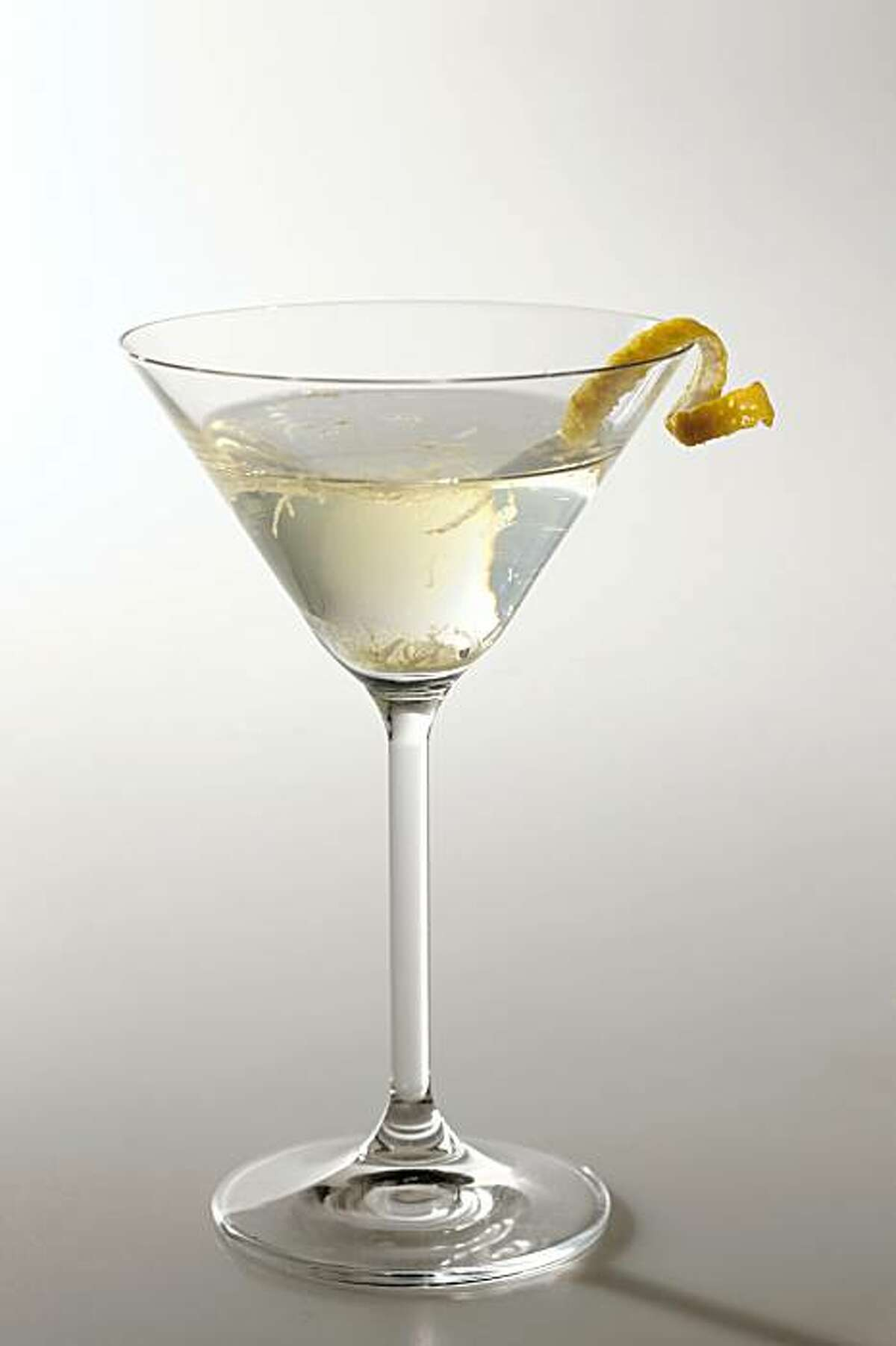 Quince Martini in San Francisco, Calif., on October 28, 2009. Drink styled by Rose Amoroso.