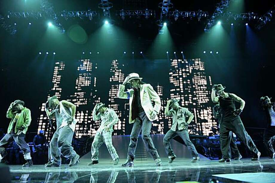 """Michael Jackson in """"This Is It."""" Photo: Kevin Mazur, ©The Michael Jackson Company, LL"""
