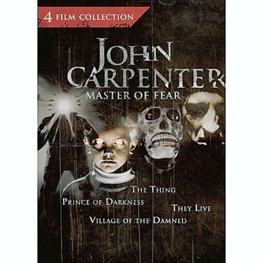 dvd cover JOHN CARPENTER: MASTER OF FEAR COLLECTION Photo: Amazon.com