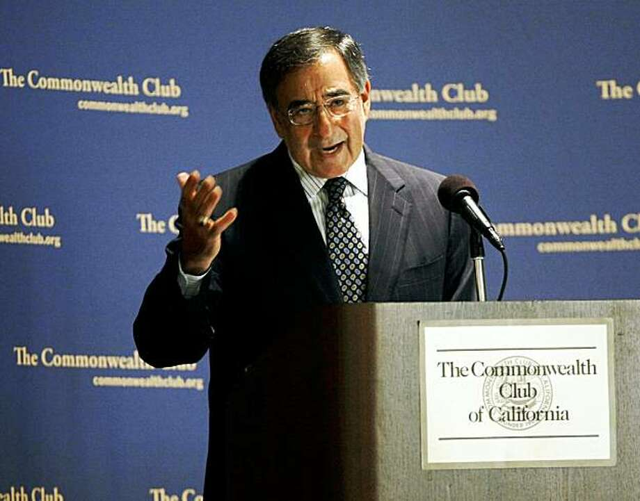 CIA Director Leon Panetta speaks at a gathering of The Commonwealth Club in San Francisco, Friday, Oct. 23, 2009.(AP Photo/Marcio Jose Sanchez) Photo: Marcio Jose Sanchez, AP