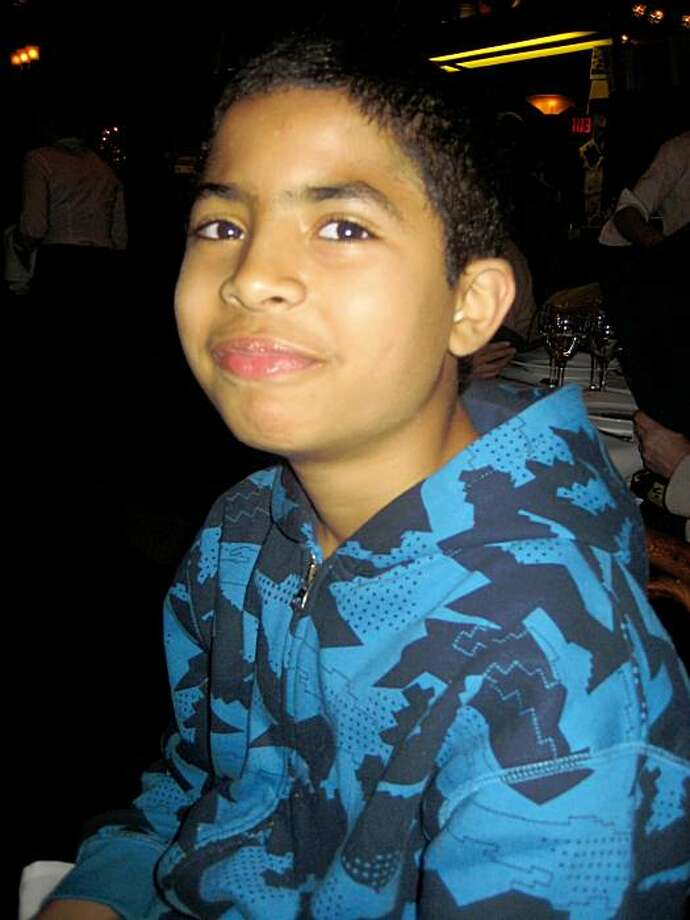 Hatim Mansori, 11, was stabbed coming home from baseball practice on a Muni bus. It  was his first ride alone on Muni. Photo: Laila Elfazouzi