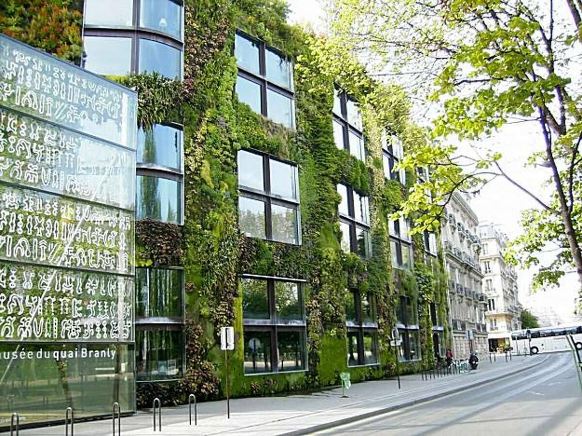 The Musee du Quai Branly in Paris features one of French botanist Patrick Blanc's best known