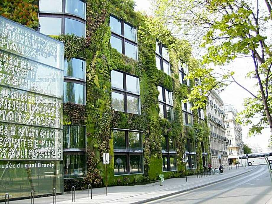 "The Musee du Quai Branly in Paris features one of French botanist Patrick Blanc's best known ""vertical gardens."" Photo: Courtesy Photo"
