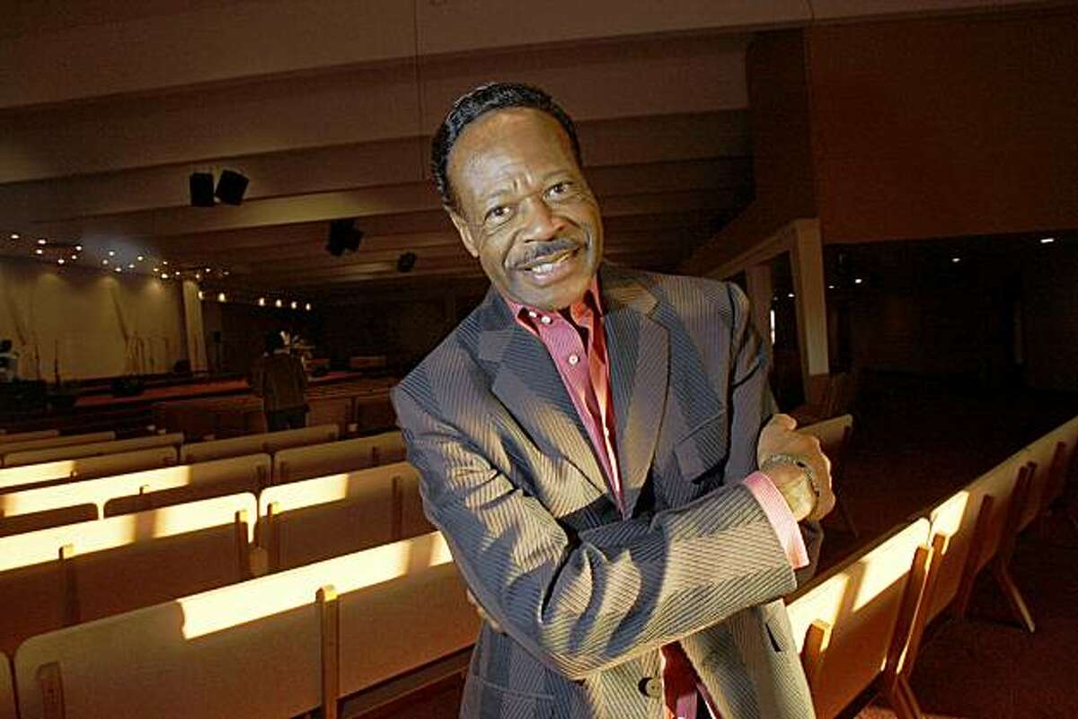 Edwin Hawkins gospel legend poses for a portrait at the Love Center Ministeries in Oakland Calif., on Thursday on October 8, 2009.