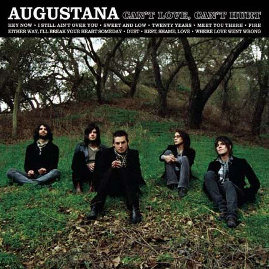 cd cover CAN'T LOVE, CAN'T HURT by Augustana Photo: Handout