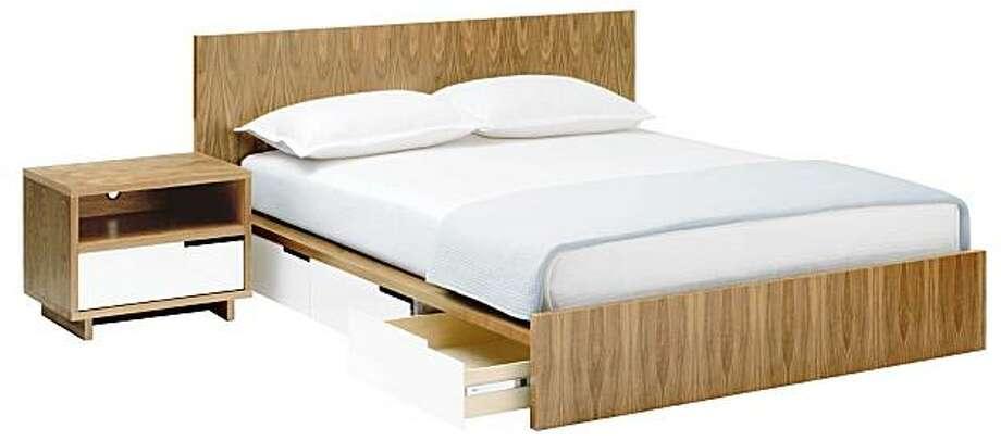 Modulicious bed Photo: Blu Dot