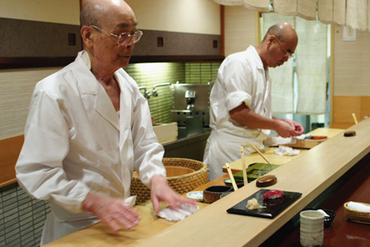 (L-R) Jiro Ono and Yoshikazu Ono in