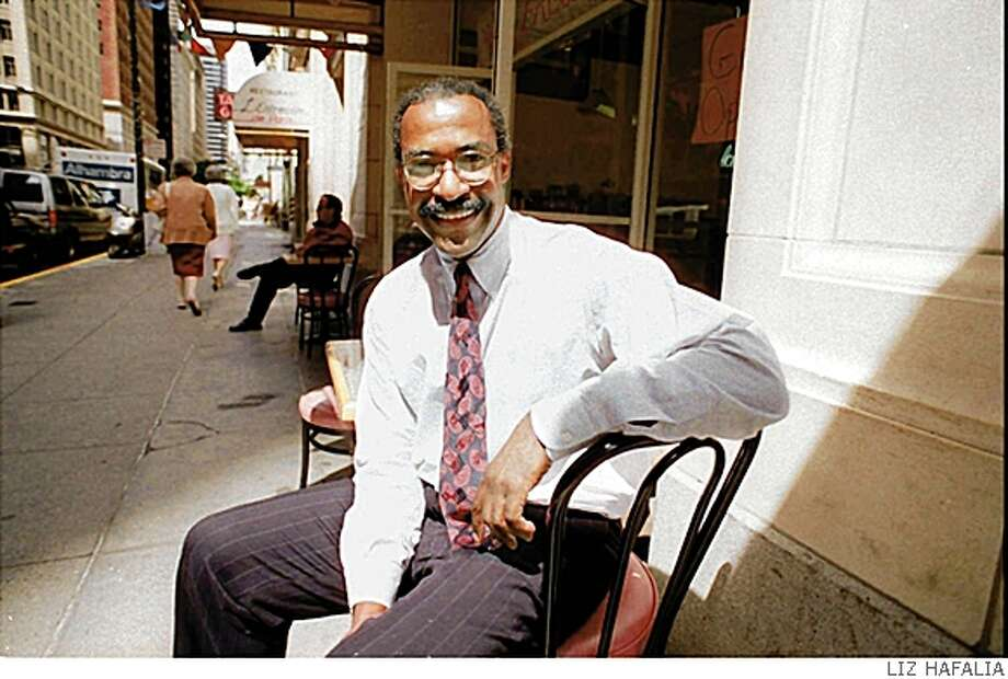 Calvin Grigsby, shown May 17, 1993, a charismatic San Francisco financier and once the operator of the country's largest minority-owned municipal bond firm, pleaded innocent Thursday,... Photo: LIZ HAFALIA