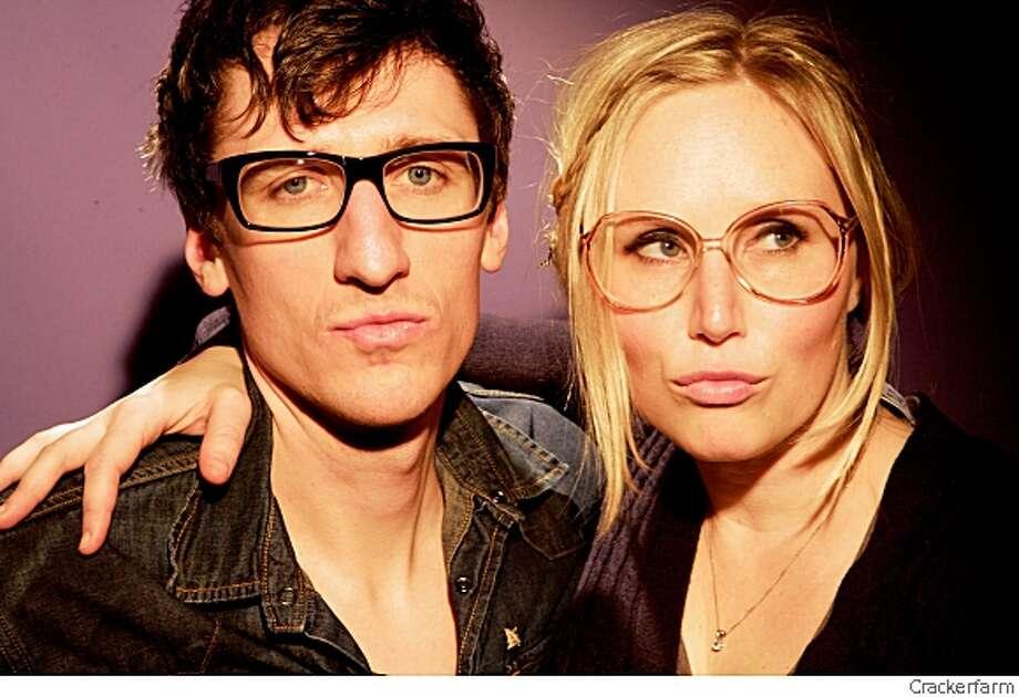 Mates of States husband and wife duo: Kori Gardner (the wife) and Jason Hammel. Photo: Crackerfarm