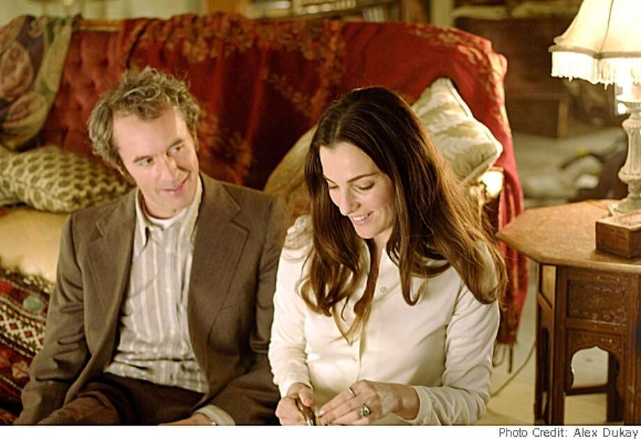 "Stephen Dillane plays Jakob, a man whose life is transformed by his childhood experiences during WWII, and Ayelet Zurer as Michaela, an understanding soul who helps him to keep living, in Jeremy Podeswa's ""Fugitive Pieces,""  opening Friday May 16.Photo Credit: Alex Dukay Photo: Photo Credit: Alex Dukay"