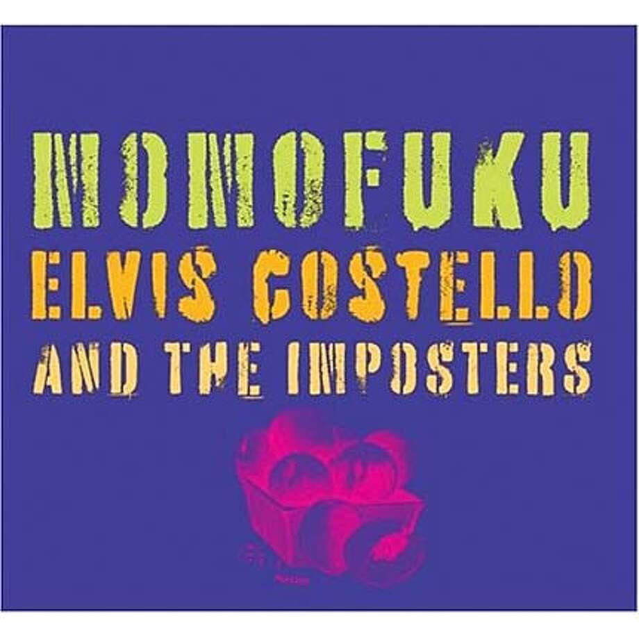 cd cover MOMOFUKU by Elvis Costello Photo: Handout