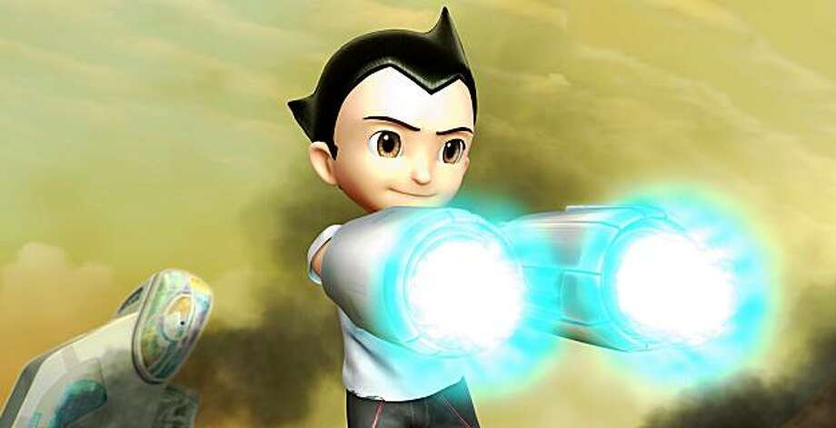 """In this film publicity image released by Summit Entertainment, Astro Boy, voiced by Freddie Highmore, is shown in a scene from, """"Astro Boy."""" (AP Photo/Summit Entertainment) Photo: AP"""