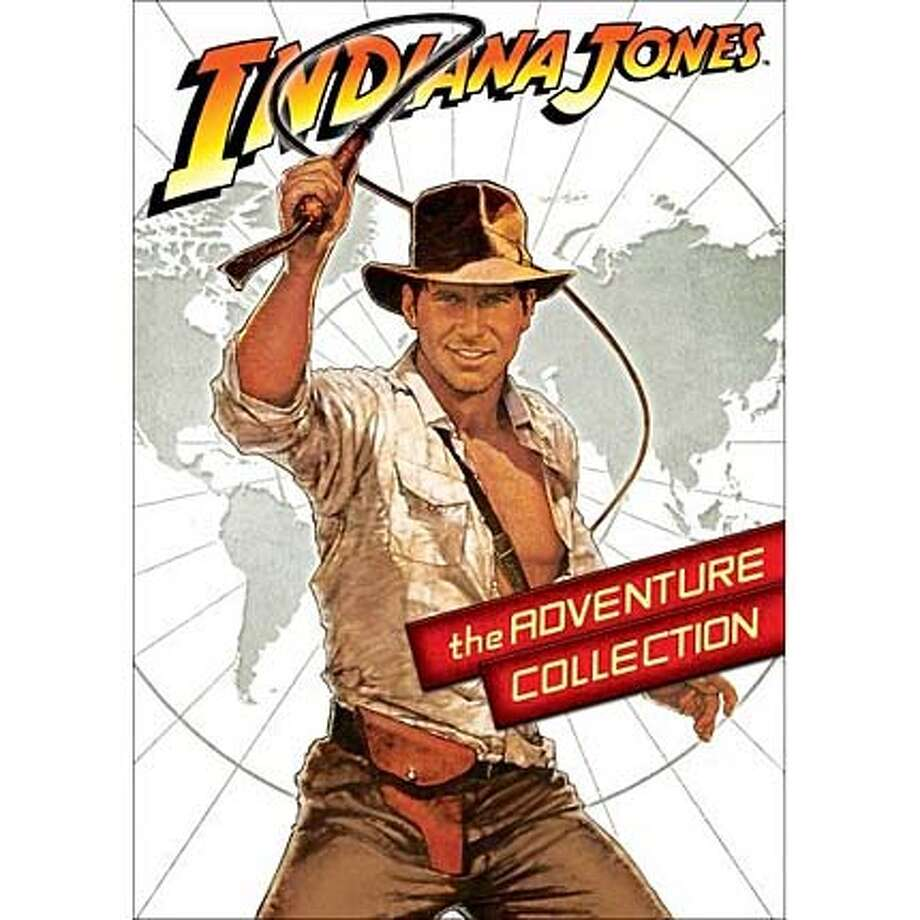 dvd cover INDIANA JONES: THE ADVENTURE COLLECTION Photo: Handout