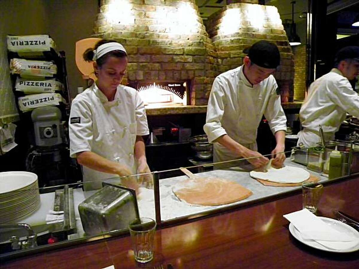 A16 opened a Tokyo outpost last month. A16 San Francisco pizzaiola Beth Anne Simpkins (left) serves as consulting chef at A16 Tokyo.