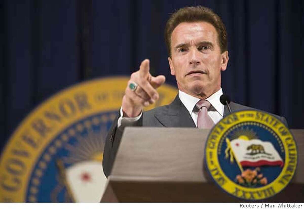 ###Live Caption:California Governor Arnold Schwarzenegger unveils his revised state budget proposal for the 2008-09 fiscal year in Sacramento, California May 14, 2008. California faces a budget deficit of $17.2 billion. REUTERS/Max Whittaker (UNITED STATES)###Caption History:California Governor Arnold Schwarzenegger unveils his revised state budget proposal for the 2008-09 fiscal year in Sacramento, California May 14, 2008. California faces a budget deficit of $17.2 billion. REUTERS/Max Whittaker (UNITED STATES)###Notes:California Governor Schwarzenegger unveils his revised state budget proposal for the 2008-09 fiscal year in Sacramento###Special Instructions: