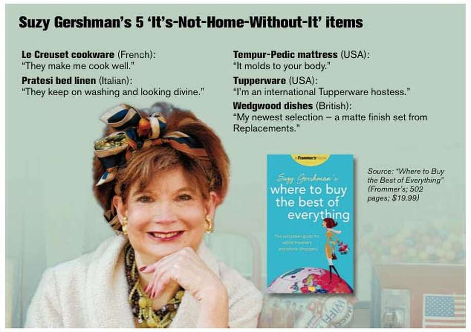 Suzy Gershman�s 5 �It�s-Not-Home-Without-It� items