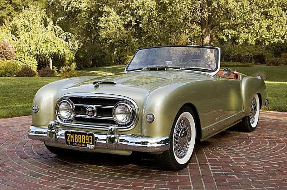 I love driving the car fast, hearing the exhaust note and the wind rushing by us. Jim Walton and his 53 Nash Healey in front of residence at 681 Center Street, Walnut Creek, CA on September 14, 2009. Photo: Stephen Finnerty