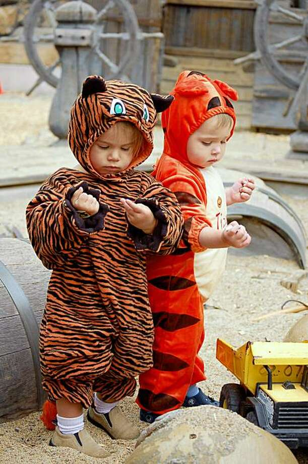 Tigers play at the Goblin Jamboree at Bay Area Discovery Museum in Sausalito. The next one is Oct. 17-18. Photo: Bay Area Discovery Museum