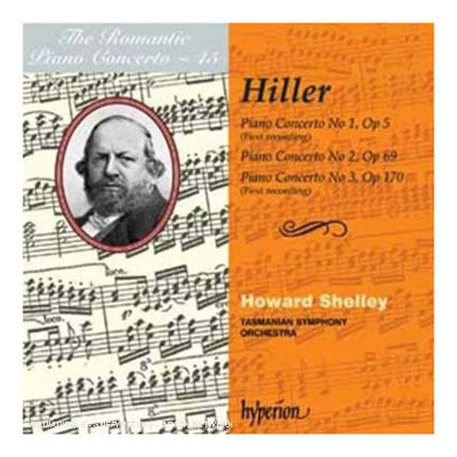 ###Live Caption:cd cover FERDINAND HILLER: PIANO CONCERTOS###Caption History:cd cover FERDINAND HILLER: PIANO CONCERTOS###Notes:###Special Instructions: Photo: Handout