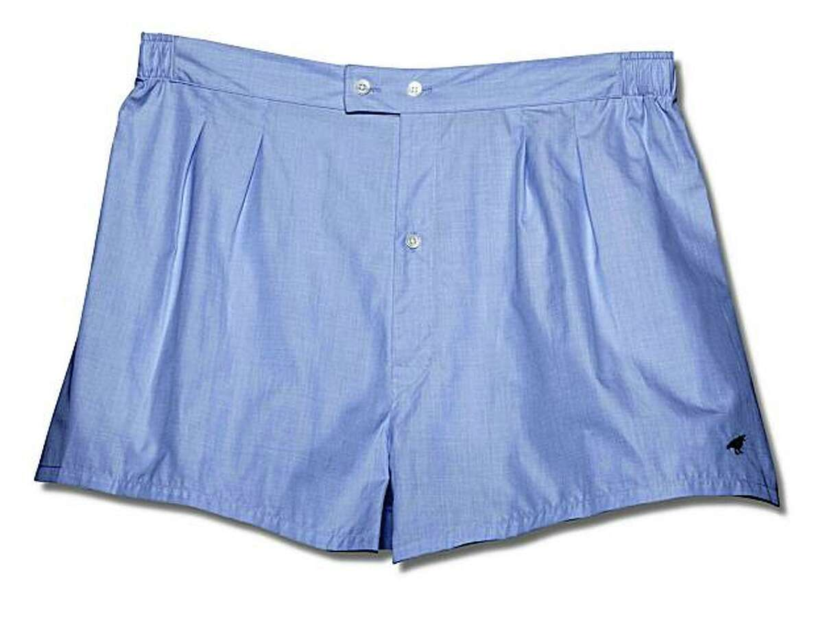 Classic fit boxers from the Sausalito company Birds of Sausalito.