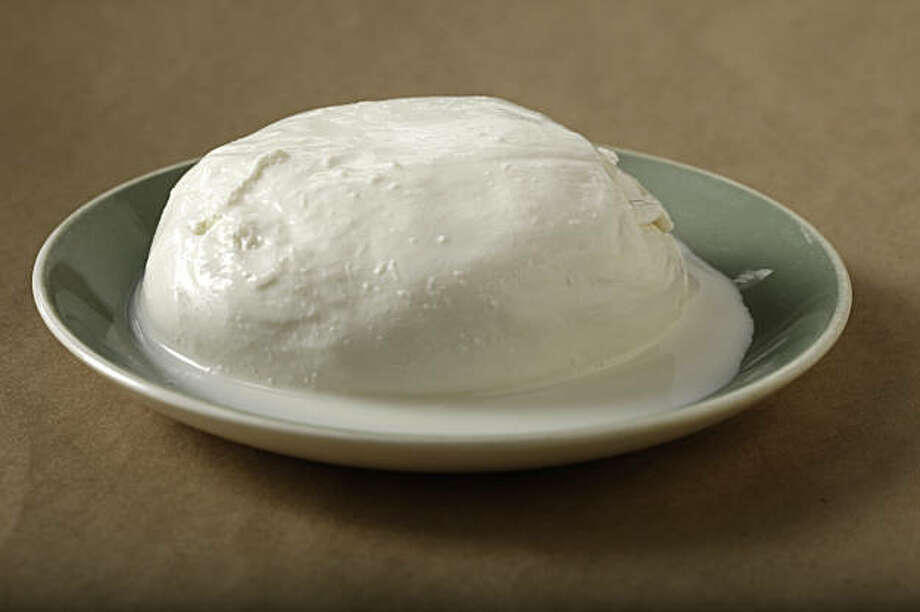 Di Stefano Burrata alla Panna cheese in San Francisco, Calif., on September 23, 2009. Photo: Craig Lee, Special To The Chronicle