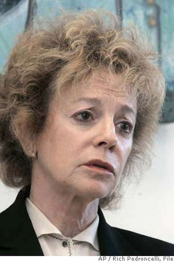 ###Live Caption:**FILE** State Sen. Carole Migden, D-San Francisco, is seen during an interview with the Associated Press at her office in Sacramento, Calif., in this Thursday, May 24, 2007, file photo. The Fair Political Practices Commission, California's political watch dog agency, filed a $9 million lawsuit Tuesday, March 25, 2008, against Migden, accusing her of consistent and deliberate violations of the state's campaign finance laws. (AP Photo/Rich Pedroncelli)###Caption History:**FILE** State Sen. Carole Migden, D-San Francisco, is seen during an interview with the Associated Press at her office in Sacramento, Calif., in this Thursday, May 24, 2007, file photo. The Fair Political Practices Commission, California's political watch dog agency, filed a $9 million lawsuit Tuesday, March 25, 2008, against Migden, accusing her of consistent and deliberate violations of the state's campaign finance laws. (AP Photo/Rich Pedroncelli)###Notes:Carole Migden###Special Instructions:MAY 24, 2007 FILE PHOTO Photo: Rich Pedroncelli