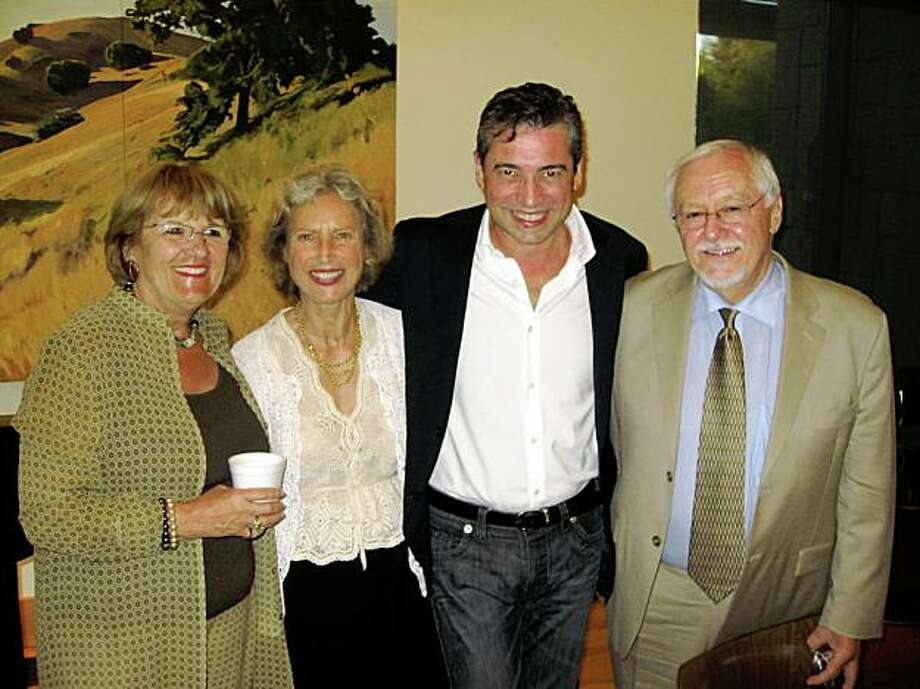 Sirid Jarrett, Silvia Lin, Nicola Luisotti, Bob Brock The San Francisco Opera Guild-East Bay Chapter held a fundraiser to benefit the San Francisco Opera Center Music in the Schools Program grades K-12.  The event took place at the Veterans Memorial Building, Lafayette, Photo: Martin Schoell, Special To The Chronicle