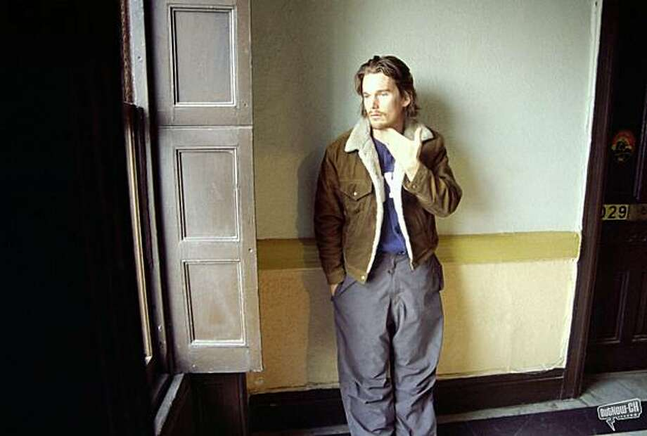 Ethan Hawke at the Chelsea Hotel in CHELSEA ON THE ROCKS Photo: Outnow.com