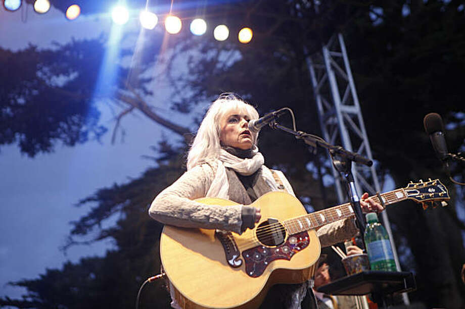 Emmylou Harris performs at the Hardly Strictly Bluegrass Festival in Golden Gate Park in San Francisco, Calif. on Sunday October 4, 2009. Photo: Lea Suzuki, The Chronicle