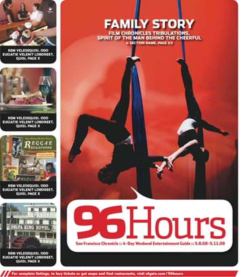 96 Hours cover: Hip-Hop Under the Big Top