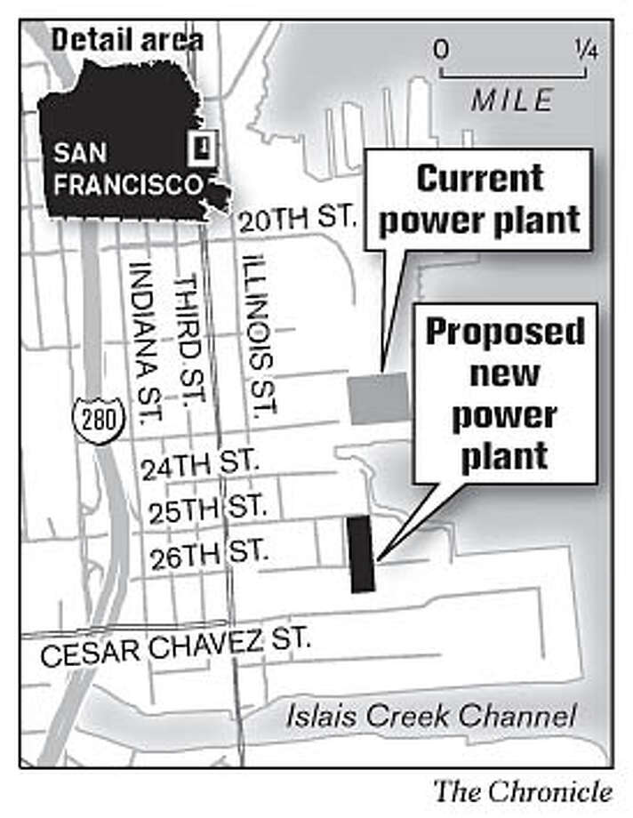 Power Plants. Chronicle Graphic
