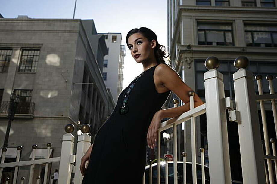 The little black dress was introduced by Chanel. Photo: Russell Yip, The Chronicle