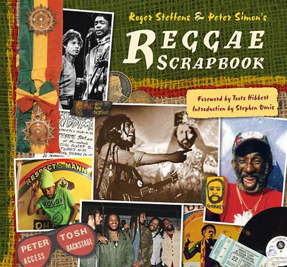 "Cover of ""Reggae Scrapbook."" Photo: Palace Press"