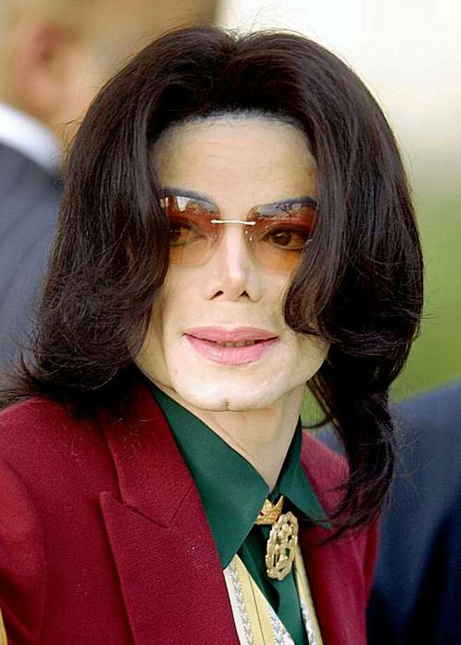 FILE - In this March 17, 2005 file photo, pop star Michael Jackson arrives at the Santa Barbara County Courthouse in Santa Maria, Calif.  (AP Photo/Michael A. Mariant, file) Photo: Michael A. Mariant, AP