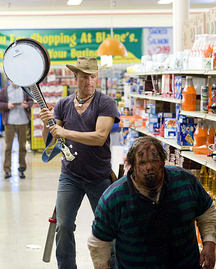 Woody Harrelson stars in Columbia Pictures' comedy ZOMBIELAND. Photo: Glen Wilson, Columbia Pictures Industries