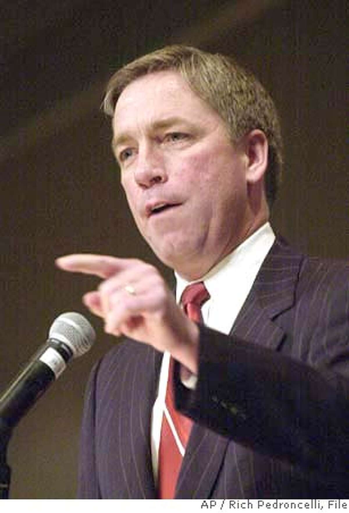 ###Live Caption:** FILE ** Republican Rep. Doug Ose, seen here in file photo taken Saturday, Feb. 22, 2003, in Sacramento, Calif., won't run for the U.S. Senate or seek re-election to the House of Representatives next year, he said Friday, May 16, 2003, in a letter to friends and supporters. His decision leaves California Republicans without a significant challenger to Democratic Sen. Barbara Boxer less than 18 months before the election. (AP Photo/Rich Pedroncelli, File)###Caption History:** FILE ** Republican Rep. Doug Ose, seen here in file photo taken Saturday, Feb. 22, 2003, in Sacramento, Calif., won't run for the U.S. Senate or seek re-election to the House of Representatives next year, he said Friday, May 16, 2003, in a letter to friends and supporters. His decision leaves California Republicans without a significant challenger to Democratic Sen. Barbara Boxer less than 18 months before the election.(AP Photo/Rich Pedroncelli, File) ALSO RAN: 1/19/2004 Rep. Doug Ose is upset at TV and the FCC for letting the words be aired. Rep. Doug Ose Rep. Doug Ose Rep. Doug Ose, R-Sacramento, wants the FCC to shape up. ProductNameChronicle###Notes:10.83 x 2.5###Special Instructions:CAT